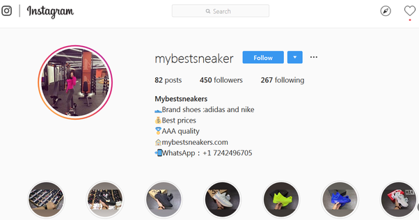 What are the best Instagram pages to buy replica sneakers
