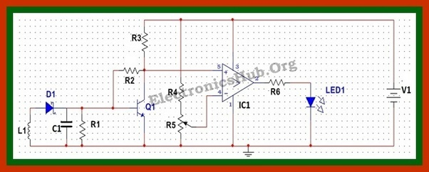 how to build a cellphone detector circuit on a breadboard quora diode circuit diagram circuit diagram using breadboard #40