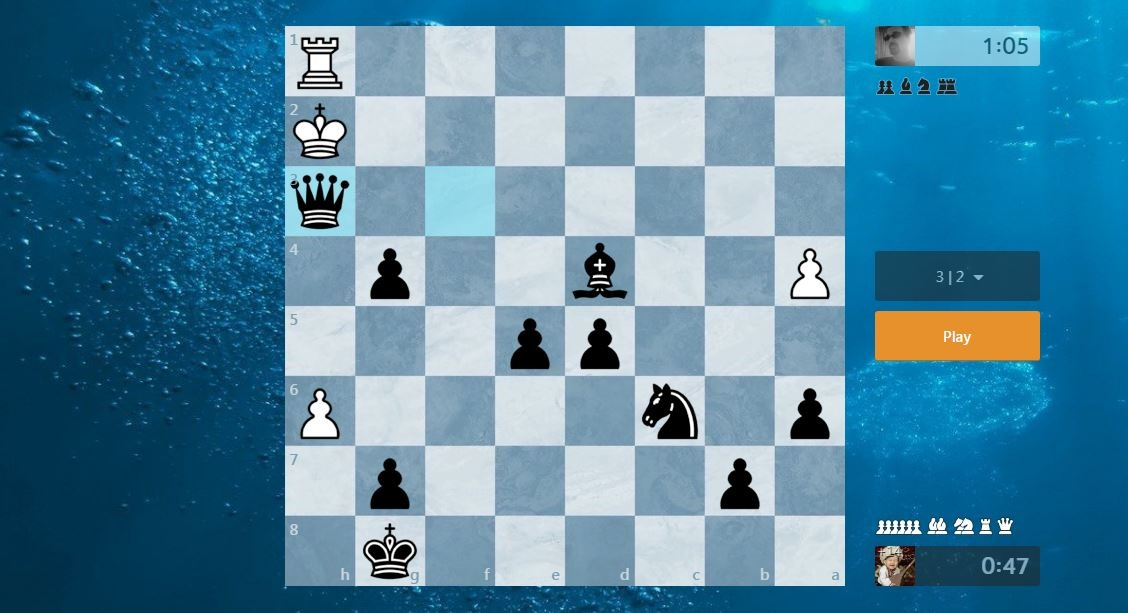 Where do you prefer to play online chess more: lichess org
