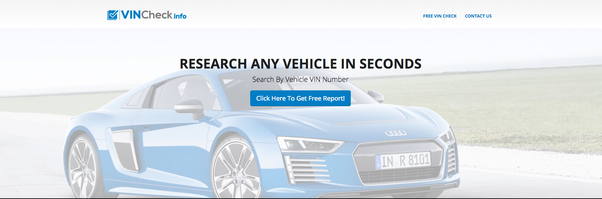 How to search for the owner of a vehicle via its VIN - Quora