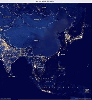 Does china have electricity quora as you can see from this totally legit map china is completely dark at night there are no lights anywhere in fact the entire country functions without gumiabroncs Image collections