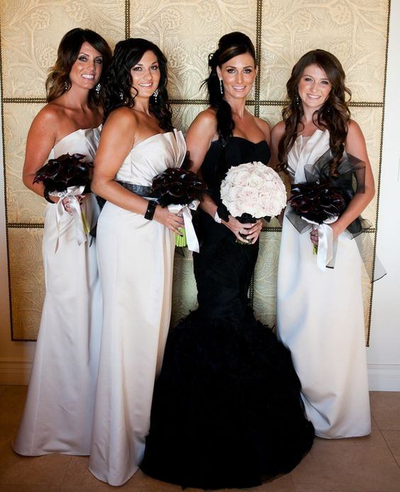 Can a bridesmaid wear white on the wedding day? - Quora