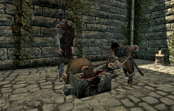 Can you stop the execution in Solitude in Skyrim? - Quora