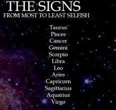 Which zodiac sign is the most selfish? - Quora