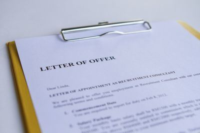 Whats the difference between a letter of intent vs a offer