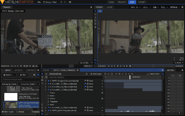What's an video editing software that is simpler and lighter than
