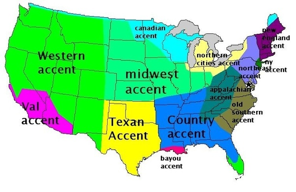 What different english accents are spoken in us quora regional dialects the major types by geography gumiabroncs Gallery