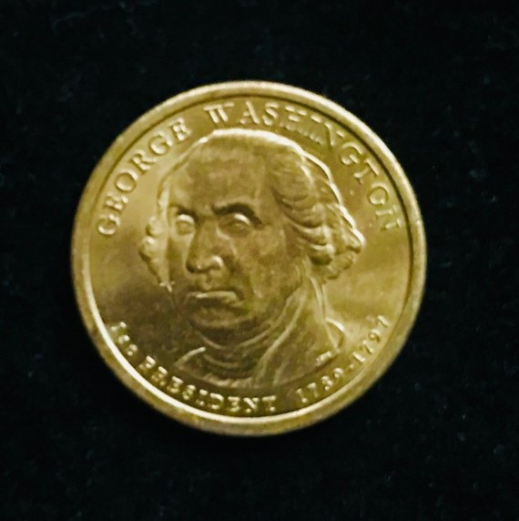 What if my George Washington dollar coin has no date? - Quora