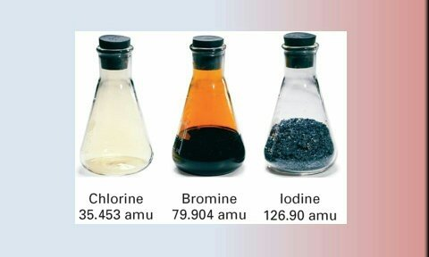 What Are The Chemical Properties Of Chlorine Bromine