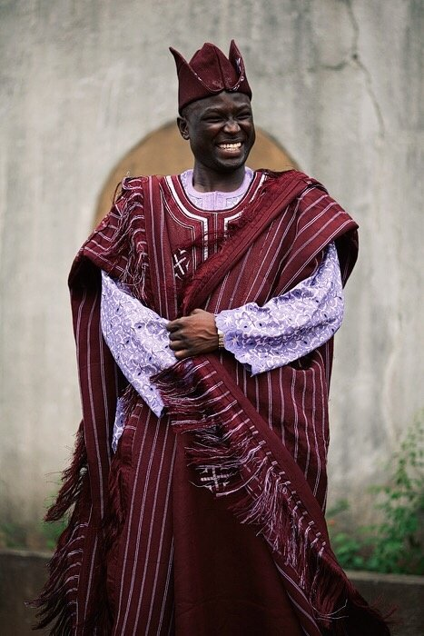It Simply Is A Flowing Robe Indigenously Called Agbada Or Babanriga Depending On Who Asked Historically They Were Worn Only By Royals