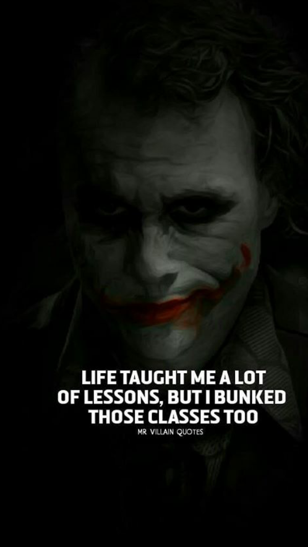 What Are The Life Lessons One Can Learn From Joker In Batman Quora