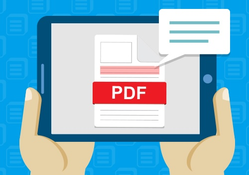 In this age, would you prefer reading a pdf document or a