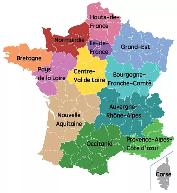 Map Of France With States.How Autonomous Are France S Regions And Do They Need More Autonomy