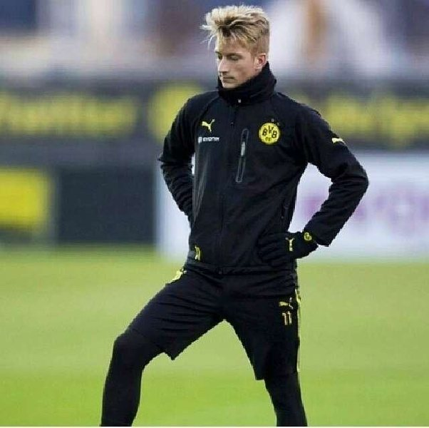 Marco Reus Can Pull Off Even A Messy Look With Aplomb