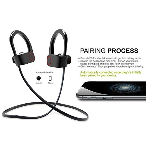 161cc32b0d2 The best feature about Bluetooth headset for mobile is obviously its  compatibility factor. Wireless Bluetooth Earphones is compatible with  windows Android ...