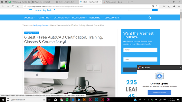 What website gives free online AutoCAD courses? - Quora