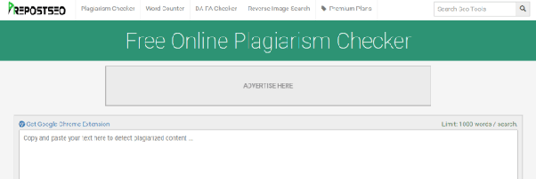 online plagiarism checker for thesis