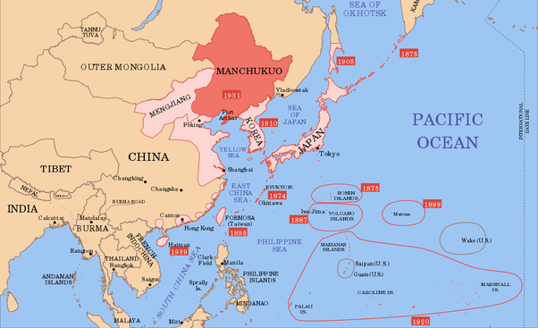 How did japan being such a small country take over a big country or in other words by 1937 japan wasnt a small island nation gumiabroncs Images