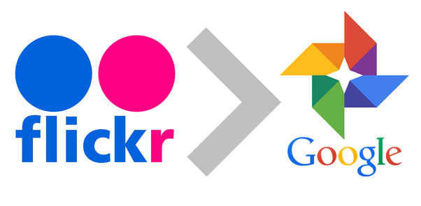 How to move all photos from Flickr to Google Photos without