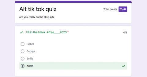 How To Find The Alt Tiktok Quiz On Google Docs Quora