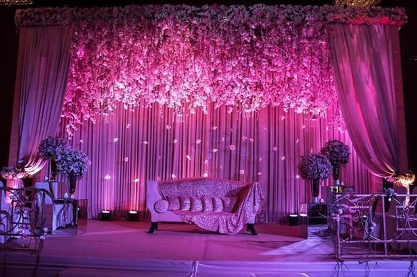 Indian Wedding Stage Decoration Photos