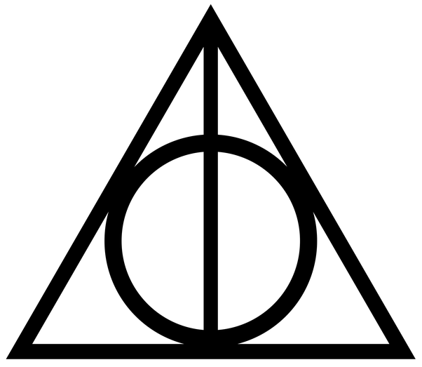 How to create the Deathly Hallows symbol in text - Quora