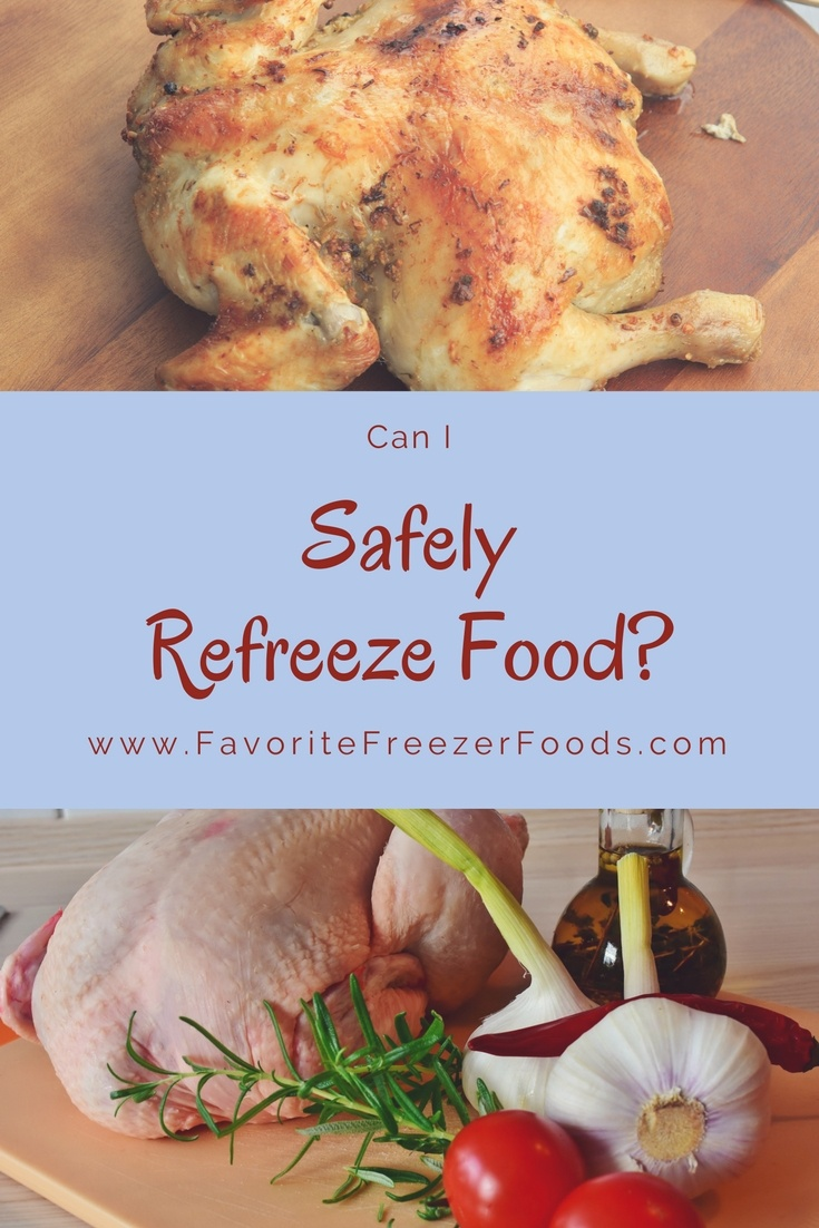 Above Can you refreeze chicken breast