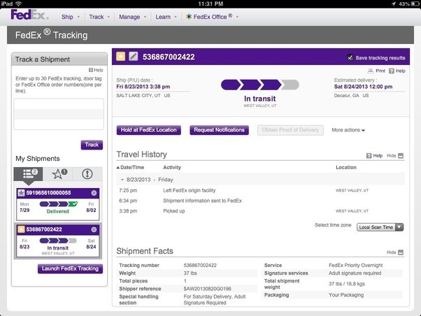 What is your FedEx tracking number? How do you find it ...