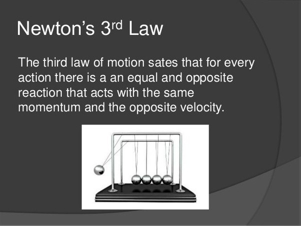what are some daily life examples of each law of motion