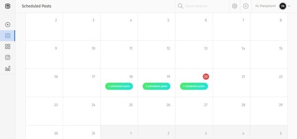 how to create and implement an instagram posting schedule