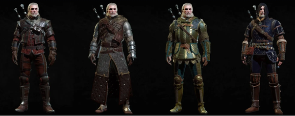 What Are The Differences Between Every Witcher Gear Upgrades In Pictures Quora