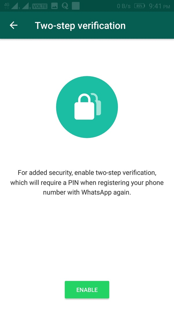 what is my whatsapp password quora