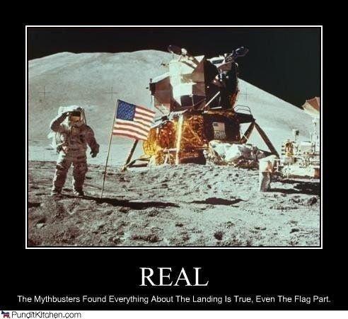 Lunar Landing Moon Conspiracies ~ Funny Joke Pictures  |Moon Landing Funny