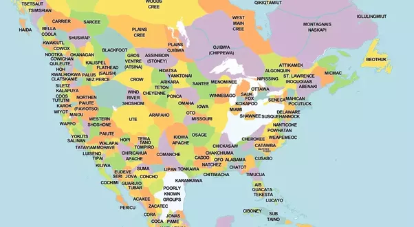 How Accurate Is The Map That Shows The Boundaries Of The Native American Nations - Quora-6540