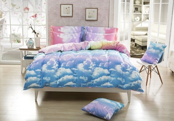 For Example, You Can Choose A Kawaii Bedding. Mostly Would Choose Pink But  There Are Other Colors That You Can Choose From Like Light Blue And Cream: