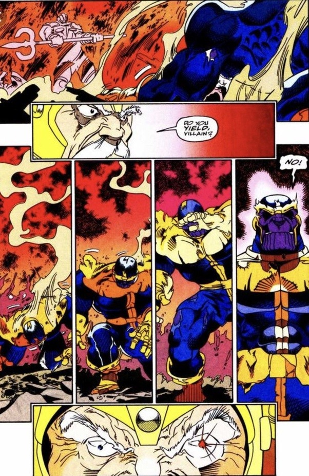 What would happen if Thanos faced Odin and Hela together in their prime? - Quora