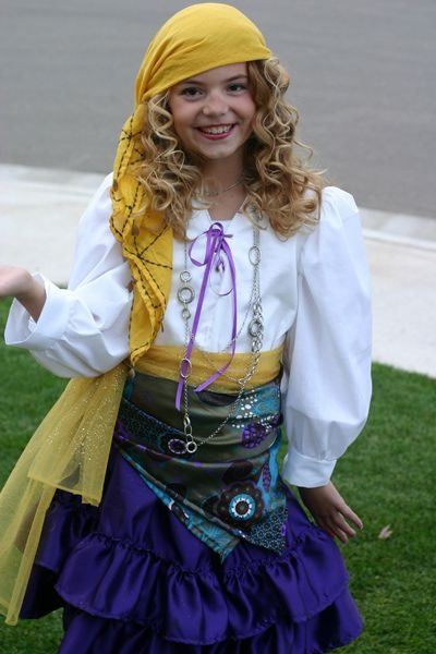 Homemade Gypsy Costume Quora