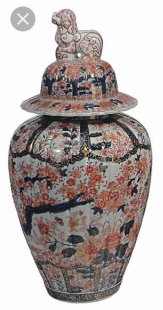What Is A Chinese 19th Century Iman Vase With A Foo Dog Lid Quora