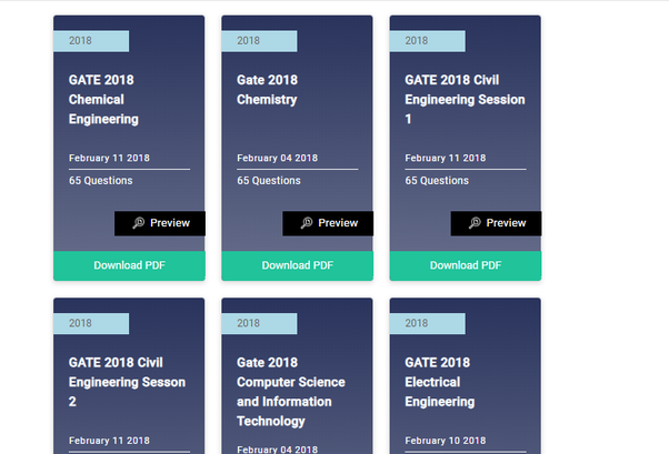 GATE Preparation: What are the best free online sites for free GATE