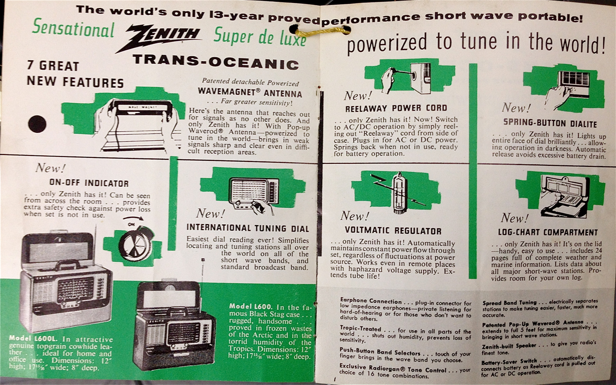 How And Why Should Anyone Restore A Zenith Transoceanic Tube Radio Ac Dc Indicator Circuit Diagram Also Paste The Following Documents Into Word Document Two To Page Print Double Sided Fold In Half Staple Spine You Have Fresh Copy Of