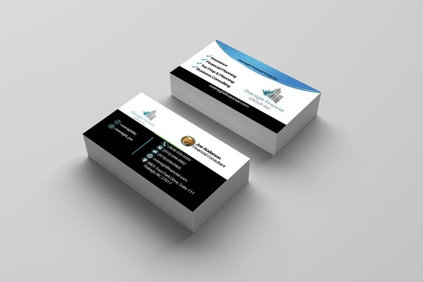 These Above Business Card Designed By A Fiverr Er You Can Contact With This For Designing Your Own