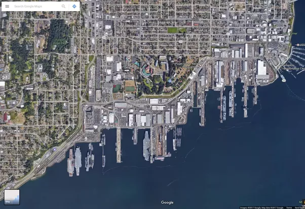 Can we see Navy ships on Google Maps Quora