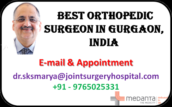 Who are the best orthopedic doctors in India ? - Quora