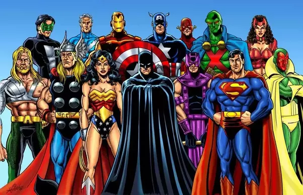 Which is the most powerful superhero team-The Avengers or ...