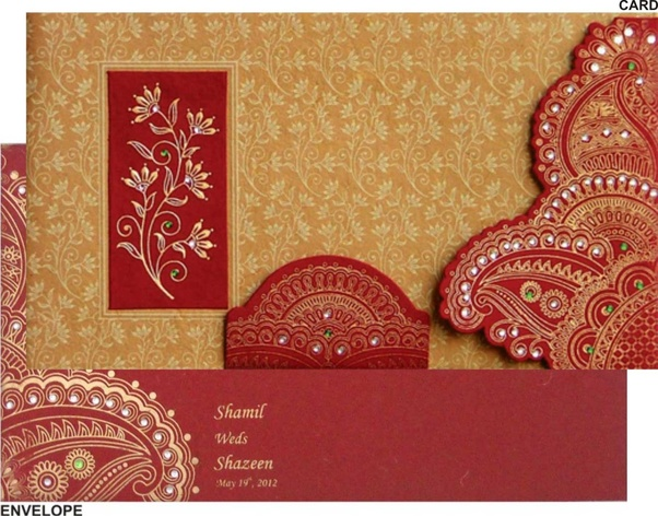 What Are Some Of The Most Creative Indian Wedding Cards Quora