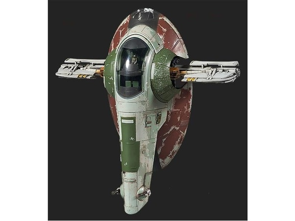What is the name of Boba Fett's ship In star wars? - Quora