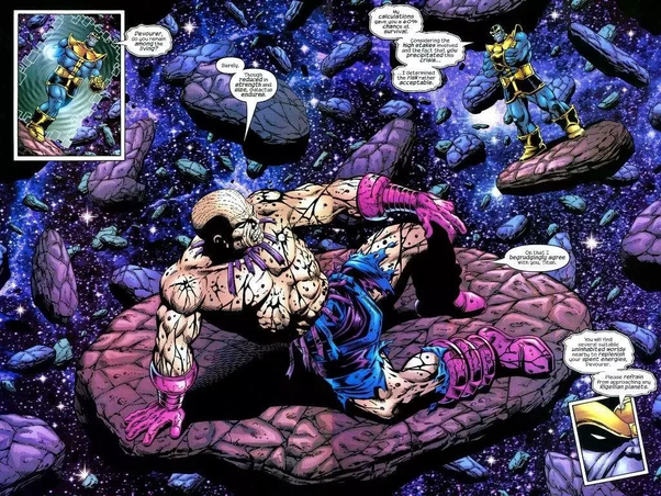 Can Galactus Beat The Celestials Quora