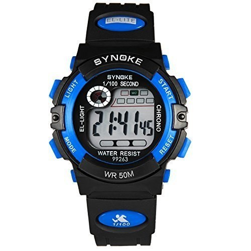 How To Set The Time On A Timsty Electronic Quartz Digital Watch For