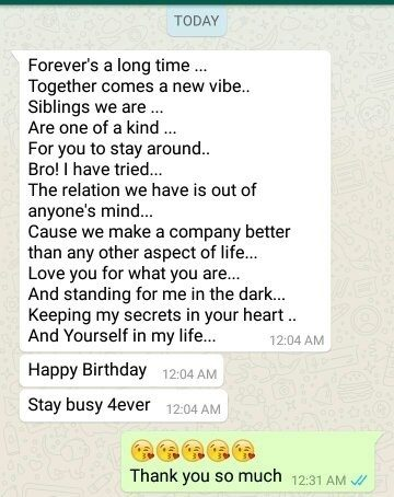 What should I t to my best friend on her birthday Quora