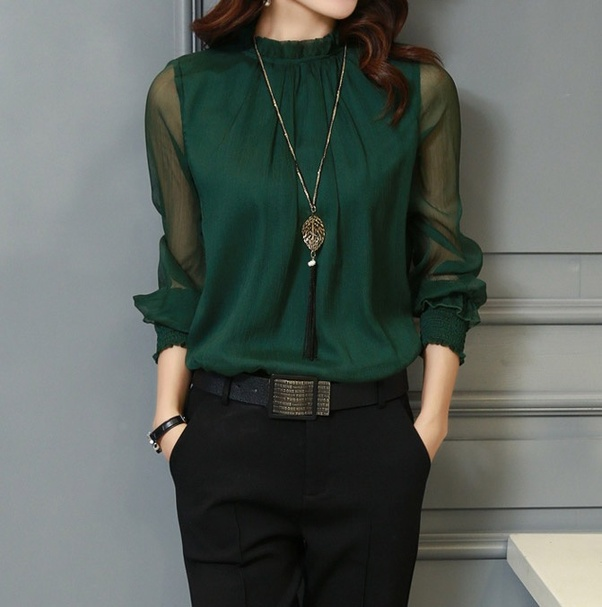 Will A Green Shirt Go With Black Pants Quora